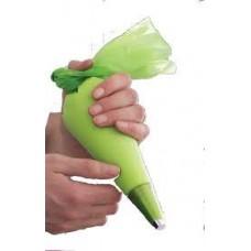 Spuitzak 46cm M groen - Spritzbeutel 46cm M- 100st