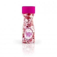 Suikerhartjes rood wit roze