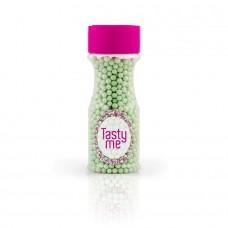 Suikerparel pastel groen 4mm