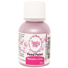Food Paint Metallic Lilac 25 gram (Tasty Me)