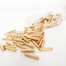 Suiker staafje metallic goud 65g